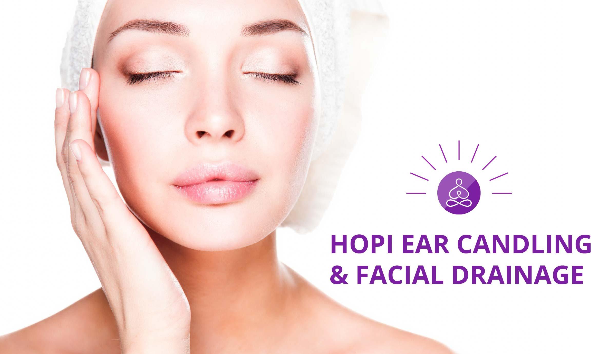 HOPI EAR CANDLING & FACIAL DRAINAGE